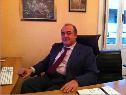 Andrea Camporese, presidente dell'Inpgi