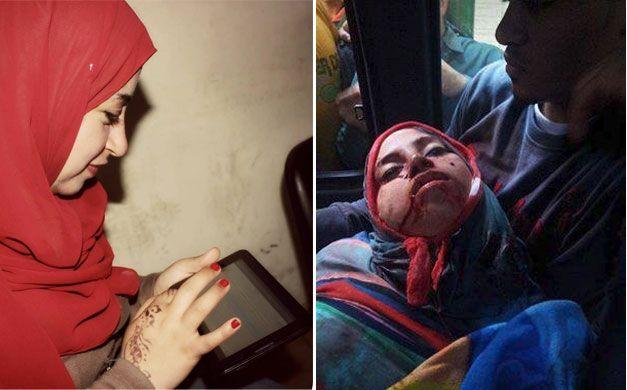 Mayada Ashraf è stata uccisa mentre svolgeva il suo mestiere di cronista