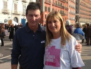 Ottavio Lucarelli e Rossana Russo