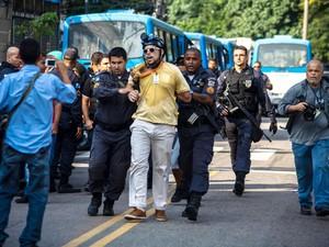 Bruno Amorim arrestato dalla polizia militare