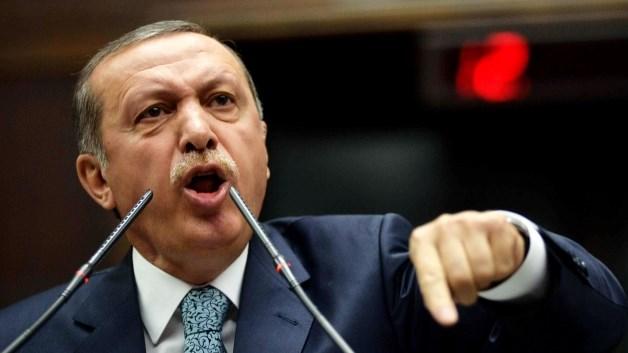 Il dittatore Recep Tayip Erdogan