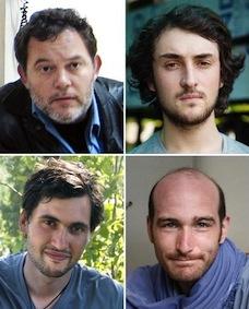 I quattro giornalisti francesi