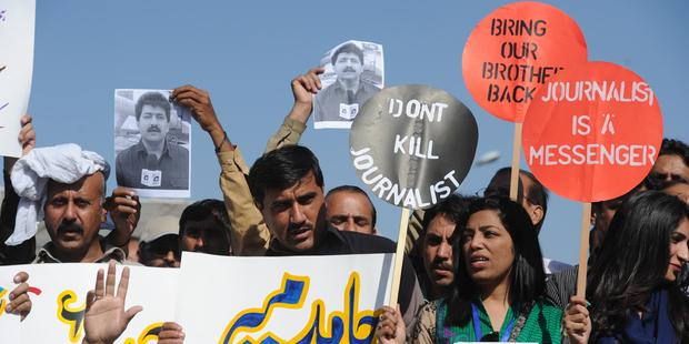 Attacks against journalists in Pakistan (1)