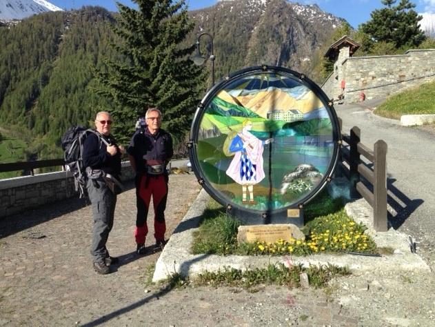 Lorenzo Del Boca e Angelo Moia di nuovo in cammino sulla Via Francigena