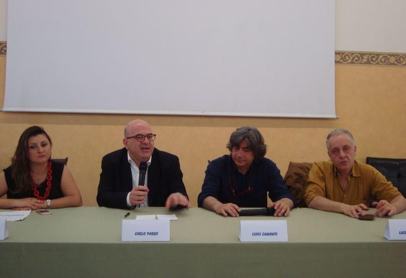 Laura Sidari, Carlo Parisi, Luciano Regolo e Luigi Caminiti