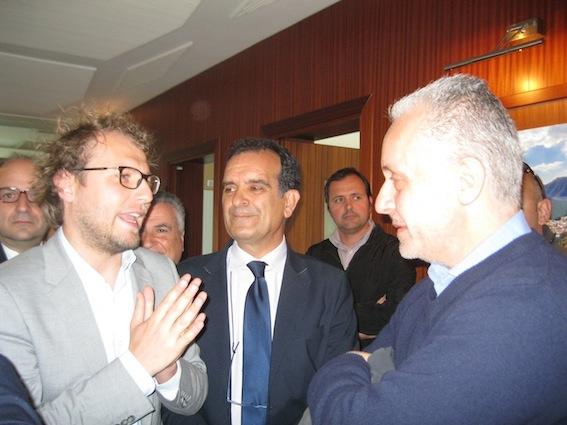Luca Lotti e Luciano Regolo