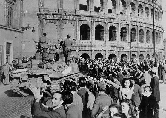 4 giugno 1944: Roma è libera