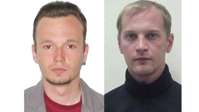 Andrej Sushenkov e Anton Malyshev