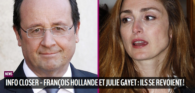 Francois Hollande e Julie Gayet oggi su Closer