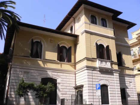La sede della Fieg, in via Piemonte a Roma