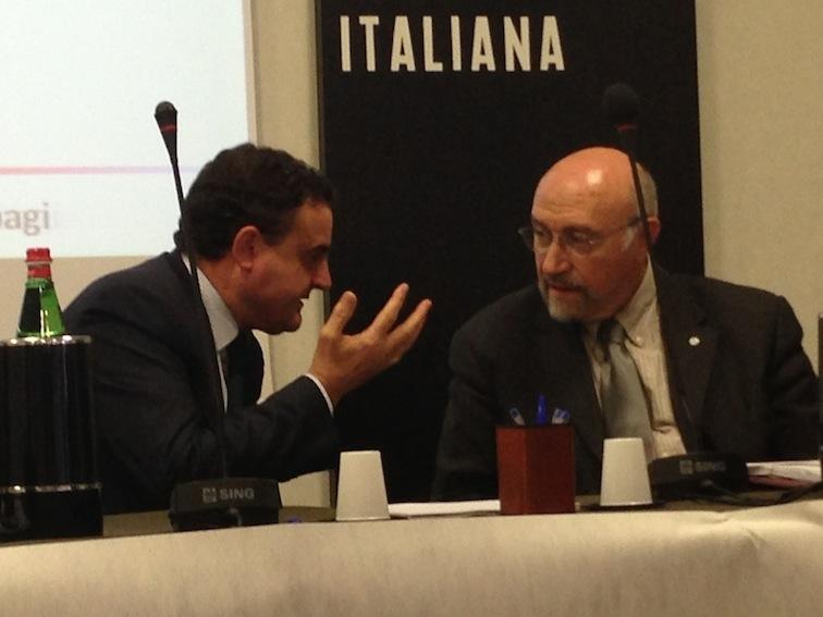 Franco Siddi e Giovanni Rossi