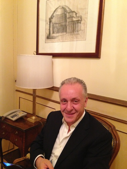 Luciano Regolo a Palazzo Chigi