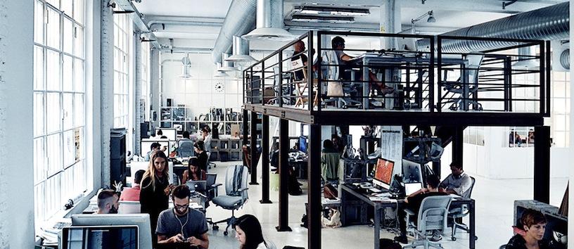Gli studi di M&C Saatchi a Milano