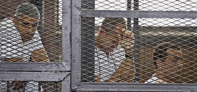 I giornalisti di al Jazeera detenuti in Egitto