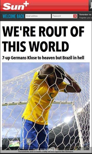 La copertina odierna del Sun