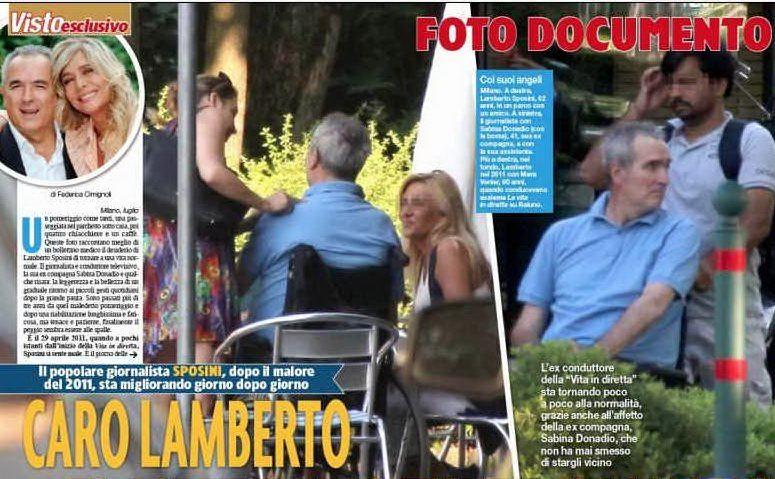 """Lamberto Sposini nelle foto pubblicate su """"Visto"""""""