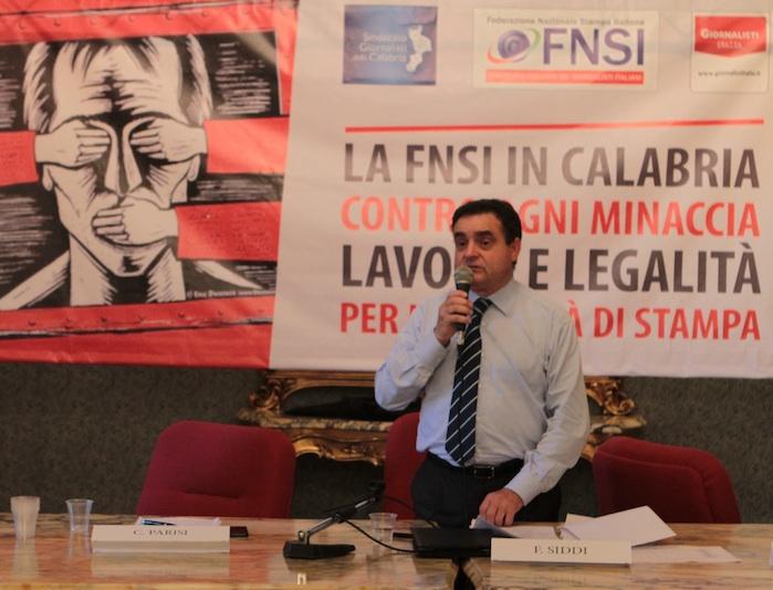 Franco Siddi, segretario generale Fnsi