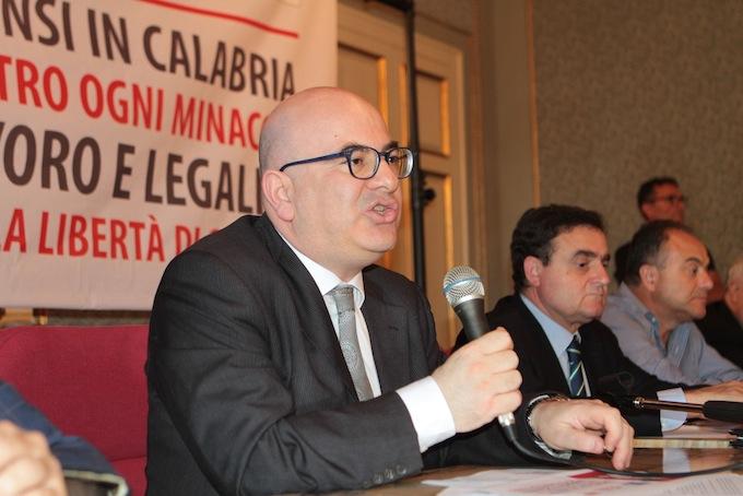 Carlo Parisi, Franco Siddi e Nicola Gratteri