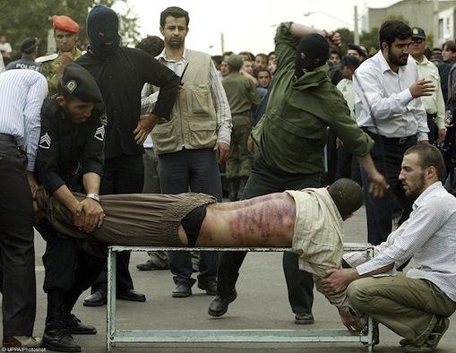 fustigazione in Iran