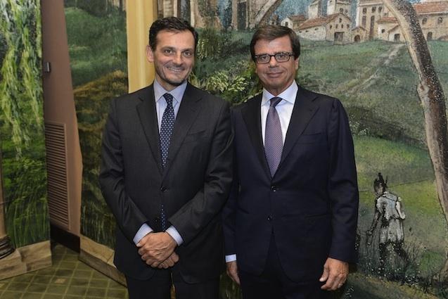 Fabrizio Carotti e Gianni Paolucci