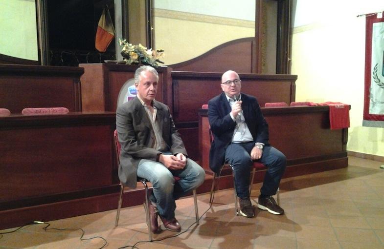 Luciano Regolo e Carlo Parisi