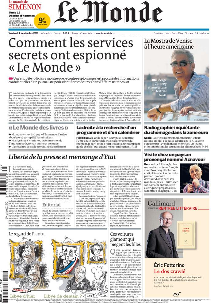 Le Monde punta sul web: dirottati 29 giornalisti - Giornalistitalia
