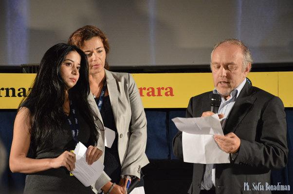 La consegna del Premio Anna Politkovskaja alla giornalista Maisa Saleh