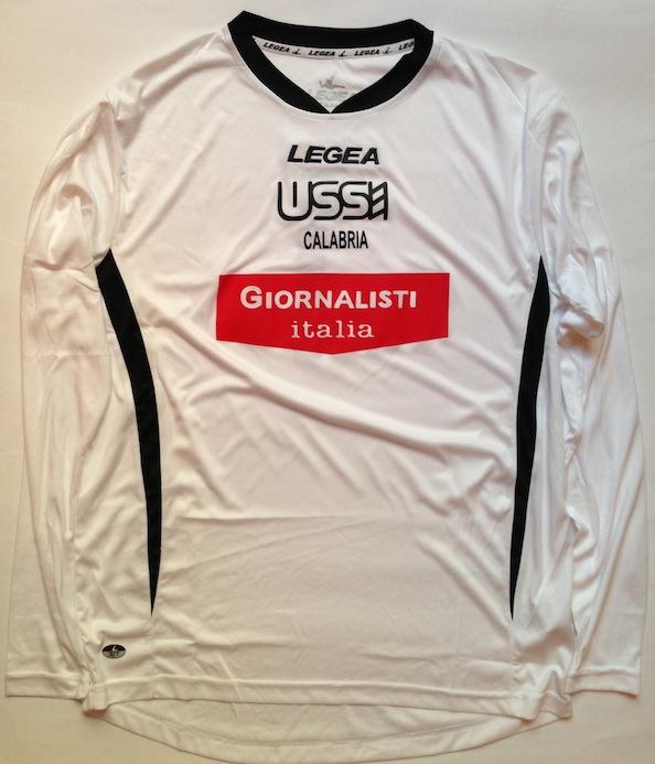 La nuova maglia dell'Ussi Calabria