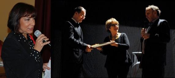 Da sinistra: Annamaria Terremoto, Thierry Pardi, Maria Rosaria Rao e Francesco Votano