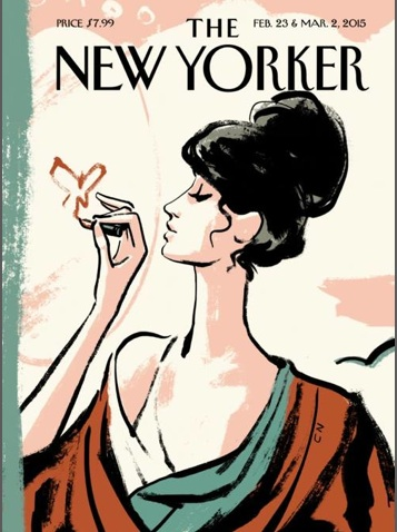Una delle storiche copertine del New Yorker