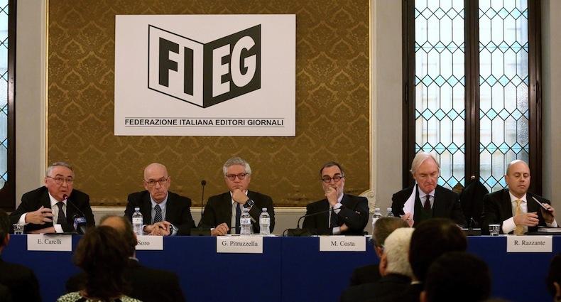 Da sinistra: Emilio Carelli