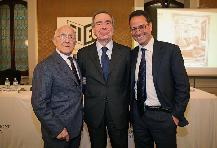 Sergio Lepri, Giulio Anselmi e Luigi Contu