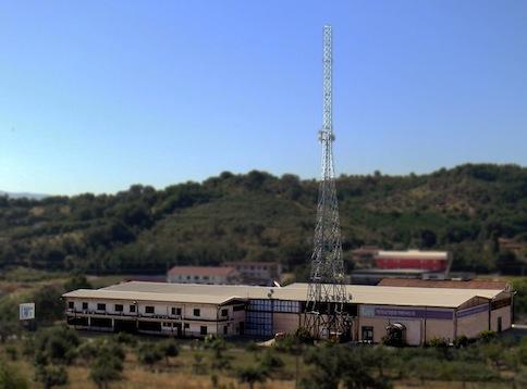 La sede di Teleuropa e Telestars in contrada Cutura di Rende