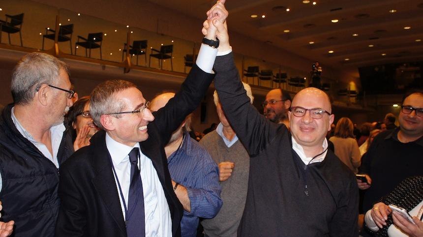 Raffaele Lorusso e Carlo Parisi al congresso di Chianciano