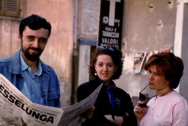 Edmondo Rho, Simonetta Rho e Vera Schiavazzi