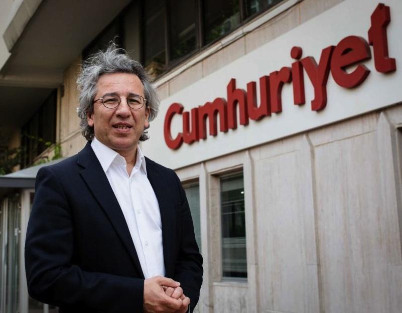 L'ex direttore di Cumhuryiet Can Dundar