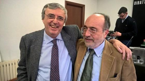 Edmondo Rho e Giuseppe Giulietti