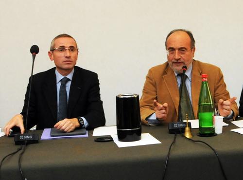 Raffaele Lorusso e Giuseppe Giulietti