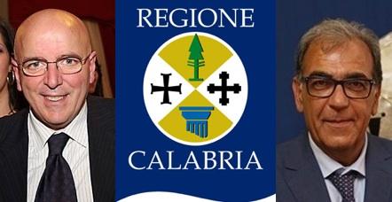 Il presidente ed il vicepresidente della Regione Calabria, Mario Oliverio e Antonio Viscomi