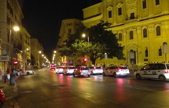 Corso Vittorio Emanuele II, a Roma