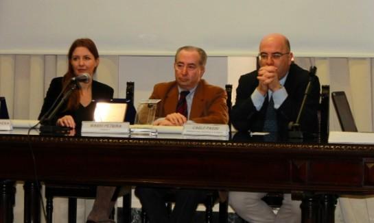 Barbara Carfagna, Mario Petrina e Carlo Parisi