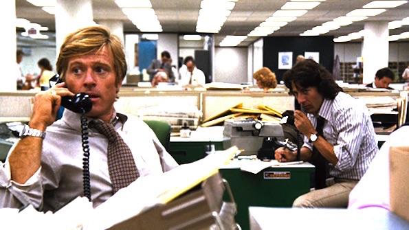 Robert Redford in Tutti gli uomini del presidente
