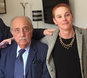 Marina Macellloni e Giuseppe Gulletta (foto Giornalisti Italia)