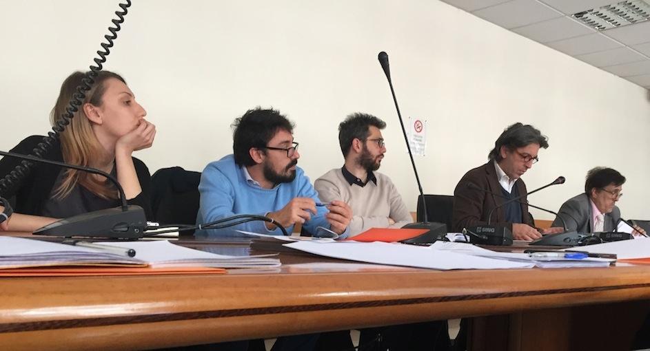 Panzera, Giuliani, Cangemi, Mililli e Destriere al Ministero del lavoro