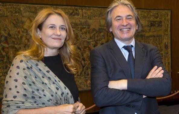 Antonio Campo Dall'Orto e Monica Maggioni