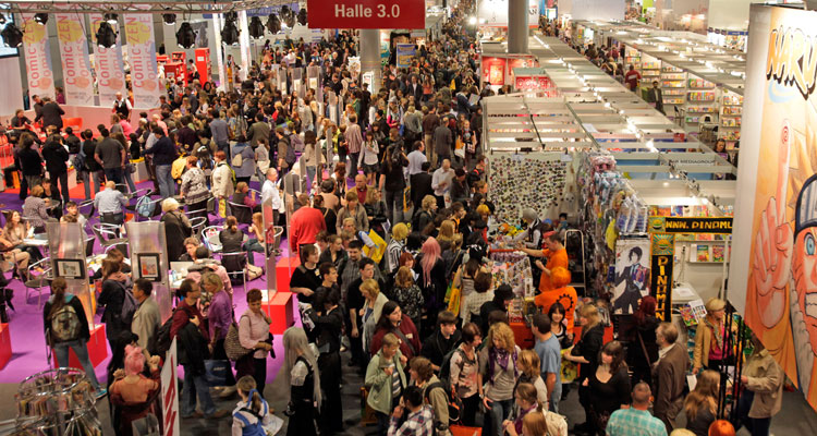 Il Salone del Libro di Francoforte