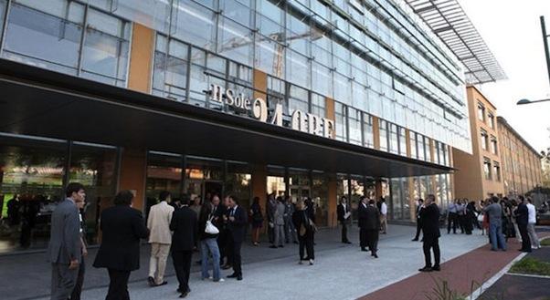 La sede del Sole 24 Ore a Milano
