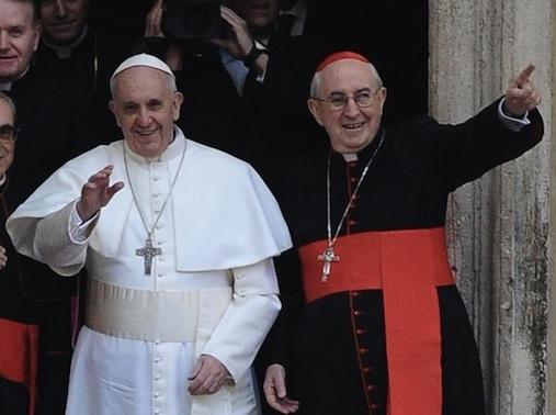 Papa Francesco e Agostino Vallini