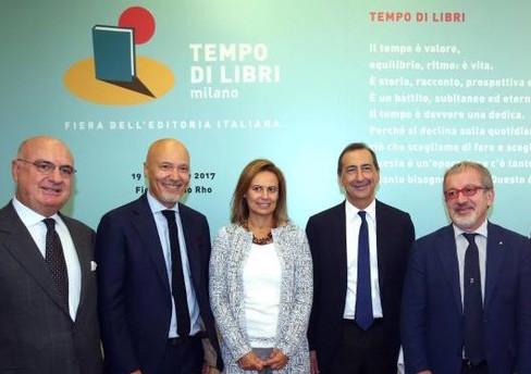 """La conferenza stampa di presentazione di """"Tempo di libri"""" a Milano"""