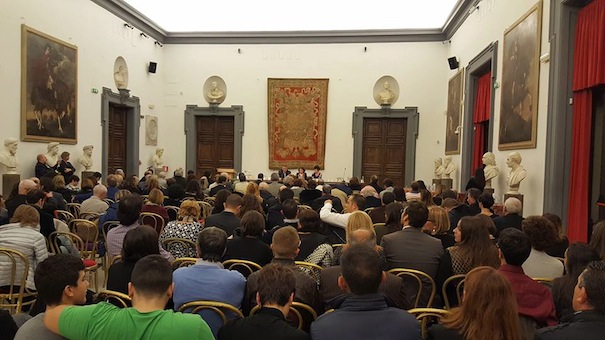 La cerimonia del Premio Mattarella nella sala consiliare del Comune di Fiumicino